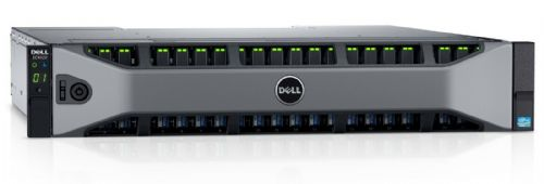 Dell Compellent SC4020F Storage Array 2x 2-Port 16Gb FC Controller 24x1.92TB SSD